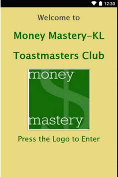 Money Mastery KL Toastmasters poster