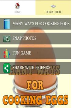 Recipe Eggs Cooking Book poster