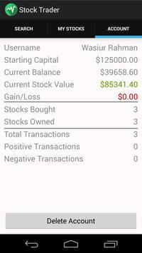 Stock Trader apk screenshot