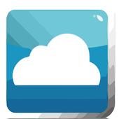 cloud cashregister icon
