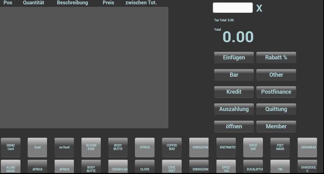cloud cashregister apk screenshot