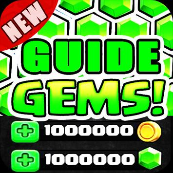 Guide Gems For Clash Royale poster