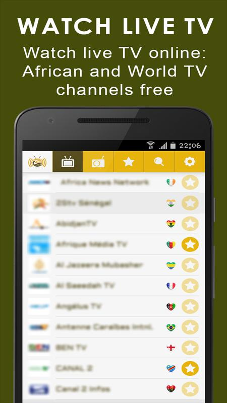 Watch tv online free on android