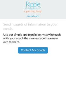 Ripple Coaching Application apk screenshot