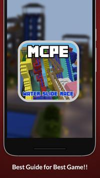 Water Slide Race Map For MCPE apk screenshot