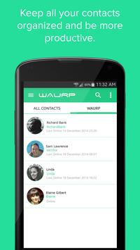 Waurp - A Message Scheduler apk screenshot