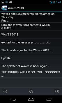 Waves 2013 apk screenshot