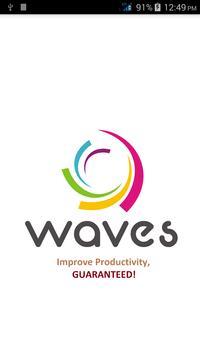 Waves App poster