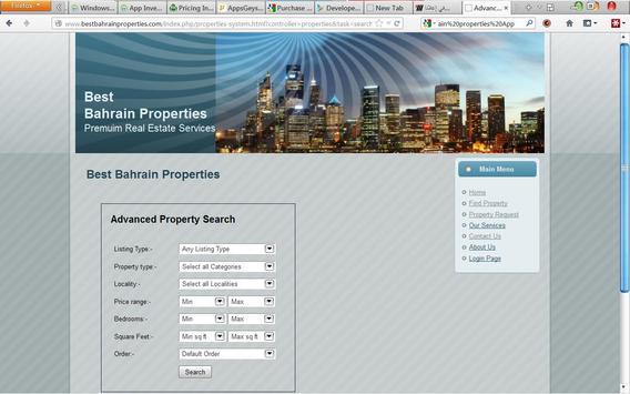 Properties In Bahrain apk screenshot