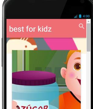 best app for kidz poster