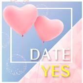 데이트예스(조건,만남,랜덤,채팅 어플) icon