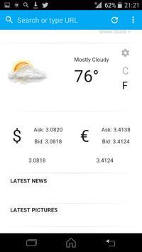 Fast Browser apk screenshot