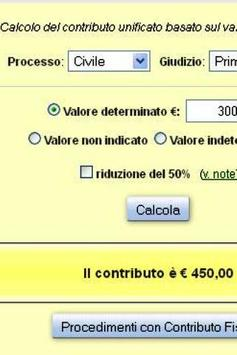 Contributo Unificato Online apk screenshot