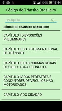 Código de Trânsito Brasileiro apk screenshot