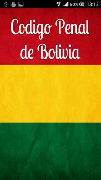 Código Penal Bolivia poster