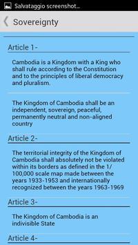 Constitution of Cambodia apk screenshot