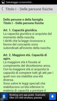 Codice Civile Italiano 2013 apk screenshot