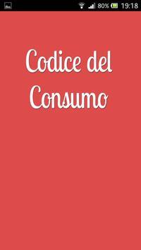 Codice del Consumo poster