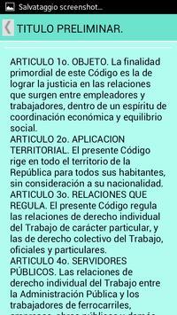 Código del Trabajo Colombia apk screenshot