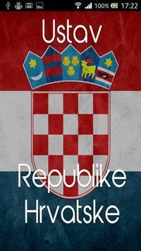 Ustav Republike Hrvatske poster