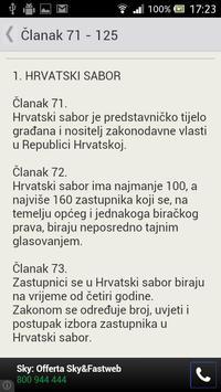 Ustav Republike Hrvatske apk screenshot