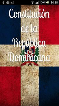 Constitución Rep. Dominicana poster
