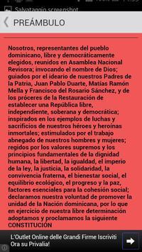 Constitución Rep. Dominicana apk screenshot