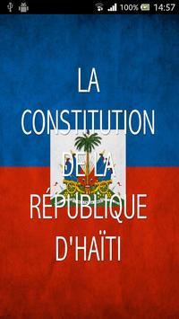 Constitution d'Haïti poster