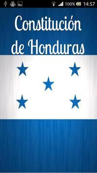 Constitución de Honduras poster
