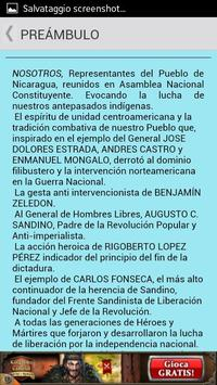 Constitución de Nicaragua apk screenshot