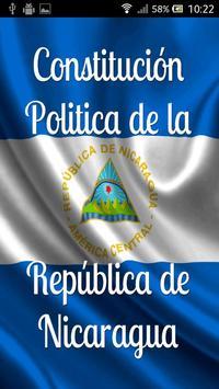 Constitución de Nicaragua poster