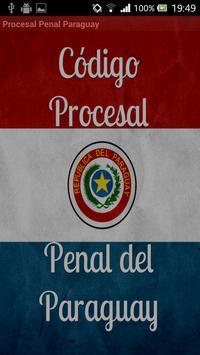 Código Procesal Penal Paraguay poster