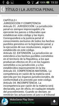 Código Procesal Penal Paraguay apk screenshot