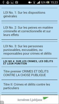 Code pénal de Haïti poster