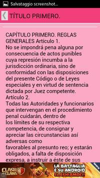 Enjuiciamiento Criminal España apk screenshot