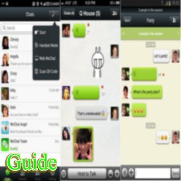 guide for New WeChat Friends! apk screenshot
