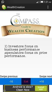 Wealth Creation poster