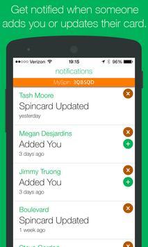 Spincard apk screenshot