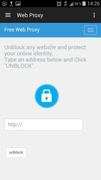 Web Proxy apk screenshot