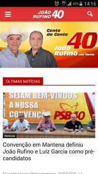 João Rufino 40 Mantena poster