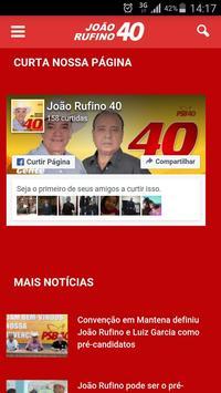 João Rufino 40 Mantena apk screenshot
