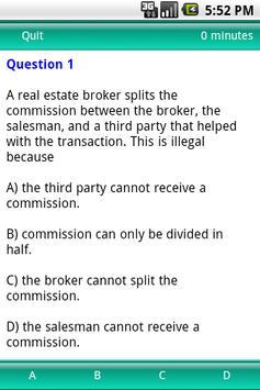 Test Review Real Estate Exam apk screenshot