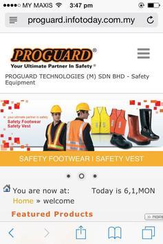 PROGUARD TECHNOLOGIES (M) S/B poster