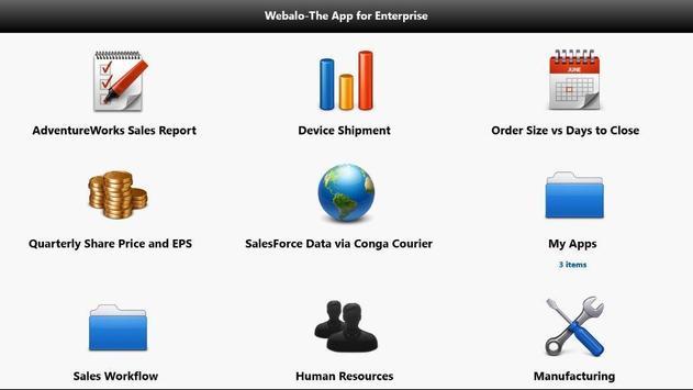Webalo for Citrix Worx apk screenshot