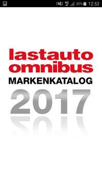 lastauto omnibus Markenkatalog poster