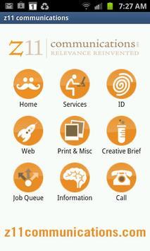 z11 communications poster