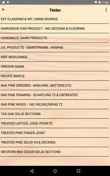 NS Timber Price List apk screenshot