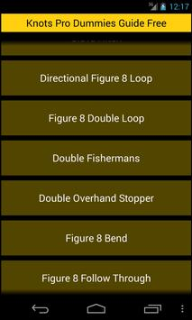 Free Knots Pro Dummies Guide apk screenshot
