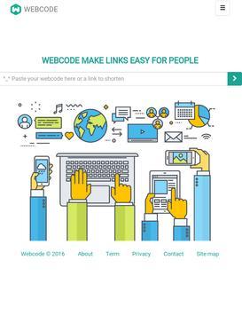 Webcode poster