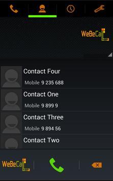 WeBeCall apk screenshot